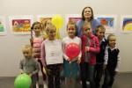 Выставка детских рисунков учеников студии Марины Архангельской «Дети любят рисовать»